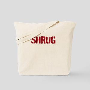 Red shrug Tote Bag