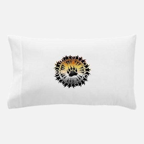 Tribal Bear Pride Paw Pillow Case