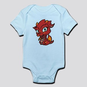 Baby Red Dragon Infant Bodysuit
