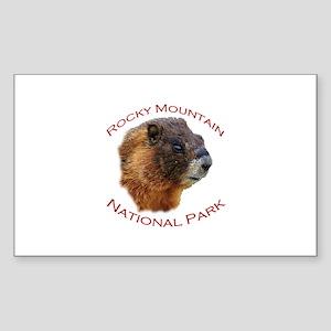 Rocky Mountain National Park...Marmot Face Design