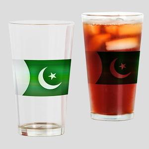 Patriotic Pakistani Design Drinking Glass