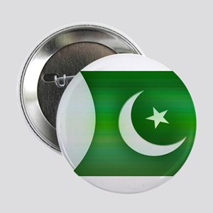"Patriotic Pakistani Design 2.25"" Button"
