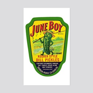 June Boy Pickles Sticker (Rectangle)