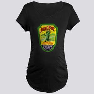 June Boy Pickles Maternity Dark T-Shirt