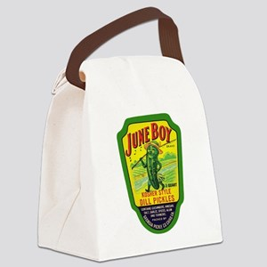 June Boy Pickles Canvas Lunch Bag
