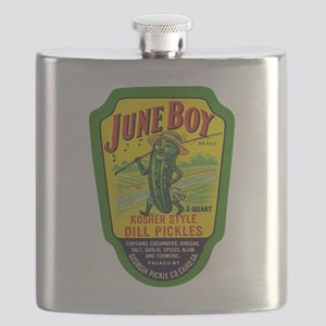 June Boy Pickles Flask