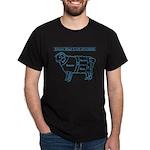 Blue print / Know Your Cuts of Lamb Dark T-Shirt
