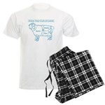 Blue print / Know Your Cuts of Lamb Men's Light Pa