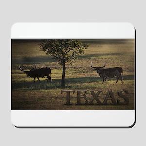 Texas Long Horn Mousepad