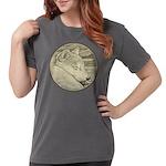 Shiba Inu Dog Art Womens Comfort Colors Shirt