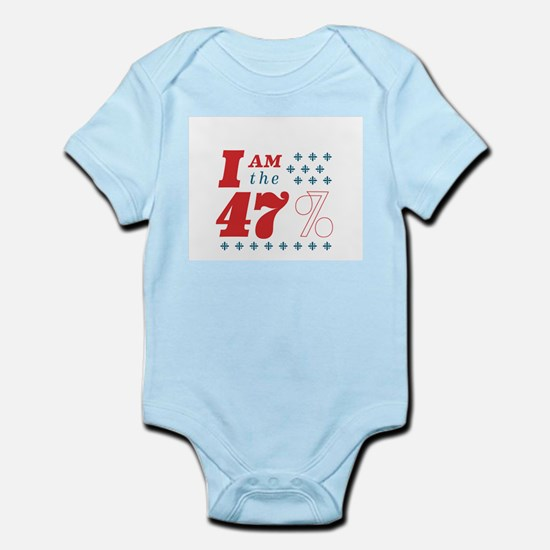 I'm the 47% Infant Bodysuit
