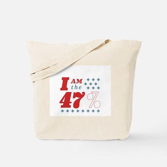 I'm the 47% Tote Bag