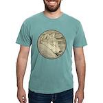 Shiba Inu Dog Art Mens Comfort Colors Shirt