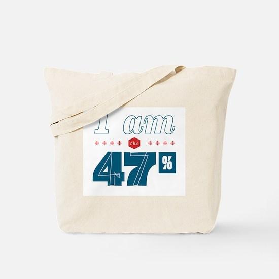 I Am the 47% Tote Bag
