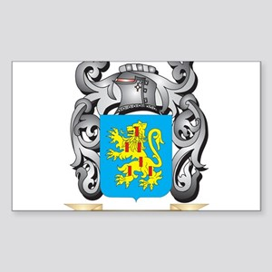 Browning Family Crest - Browning Coat of A Sticker