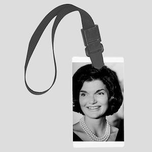 Jackie Kennedy Large Luggage Tag