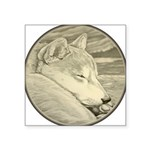 Shiba Inu Dog Art Sticker