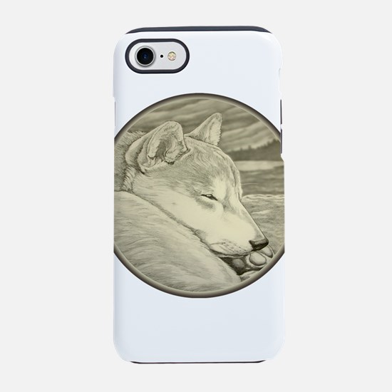 Shiba Inu Dog Art iPhone 7 Tough Case
