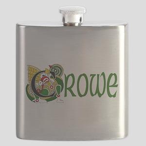 Crowe Celtic Dragon Flask