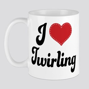 I Love Twirling Mug