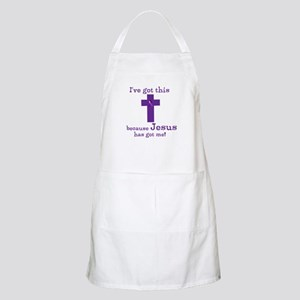 Purple Jesus Has Got Me Apron
