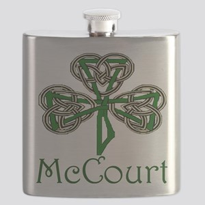 McCourt Shamrock Flask
