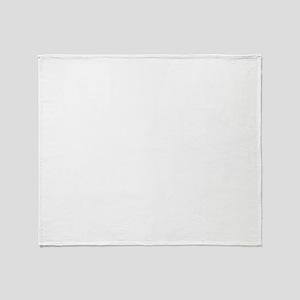 DJ Vladi White Logo Throw Blanket