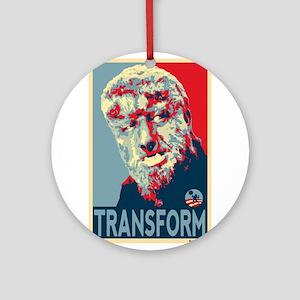 Transform - Wolfman for President 2012 Ornament (R
