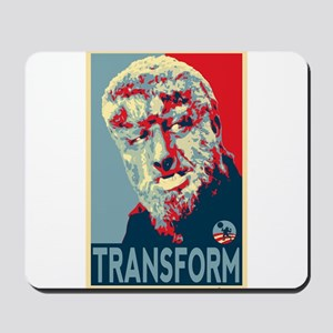 Transform - Wolfman for President 2012 Mousepad