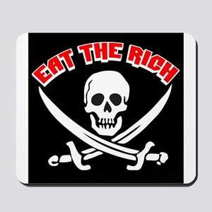 Jolly Roger: Eat The Rich! Mousepad