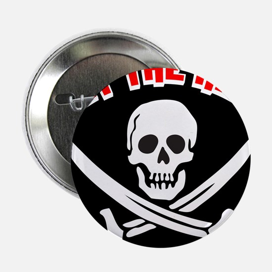 "Jolly Roger: Eat The Rich! 2.25"" Button"