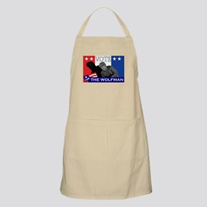 Vote for the Wolfman! Apron