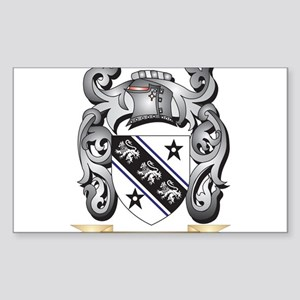 Brown Family Crest - Brown Coat of Arms Sticker