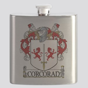 Corcoran Coat of Arms Flask