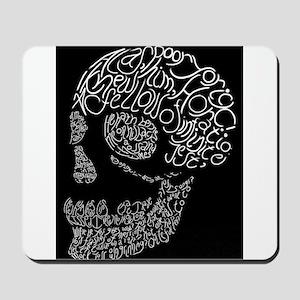 Poor Yorick's Skull: Negative Mousepad