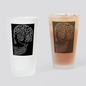Poor Yorick's Skull: Negative Drinking Glass