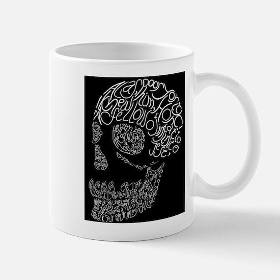 Poor Yorick's Skull: Negative Mug