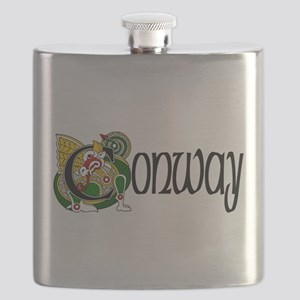 Conway Celtic Dragon Flask