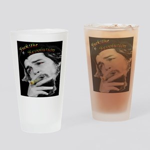 Anti Revolution Drinking Glass
