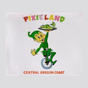 Pixieland Mermaid Pixie Throw Blanket