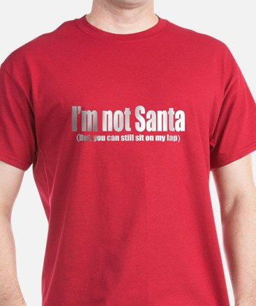 Im not Santa - But, You can still sit on my lap. D