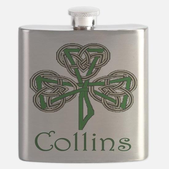 Collins Shamrock Flask