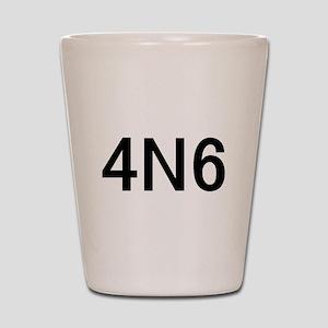 4N6 Shot Glass
