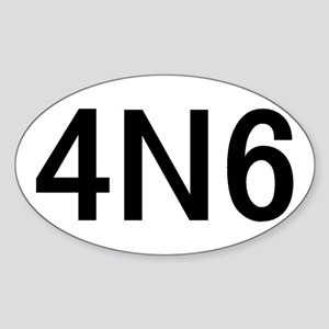 4N6 Sticker (Oval 10 pk)