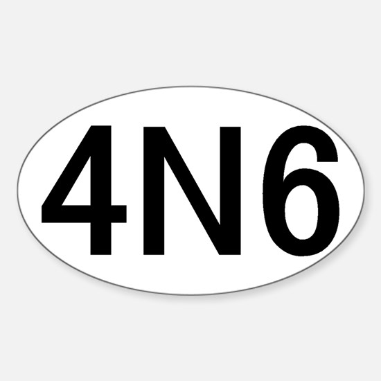 4N6 Sticker (Oval 10 pk)
