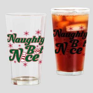 Naughty But Nice Drinking Glass