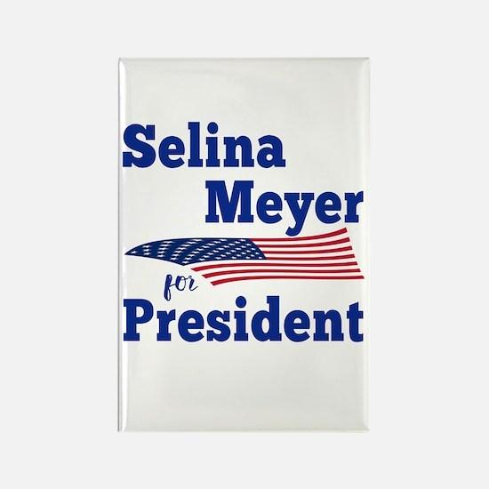 SELINA MEYER FOR PRESIDENT Rectangle Magnet