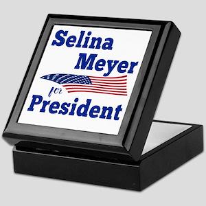 SELINA MEYER FOR PRESIDENT Keepsake Box