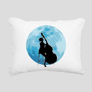 Under The Moonlight Rectangular Canvas Pillow