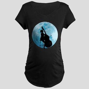 Under The Moonlight Maternity Dark T-Shirt